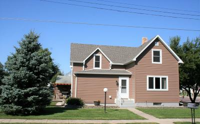 Parkston SD Single Family Home For Sale: $117,500