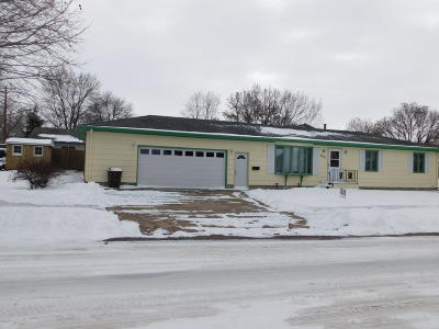 Mitchell SD Single Family Home For Sale: $159,000