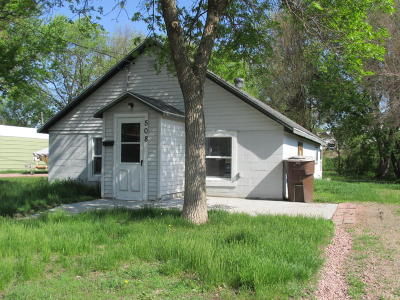 Mitchell Single Family Home For Sale: 508 W Ash