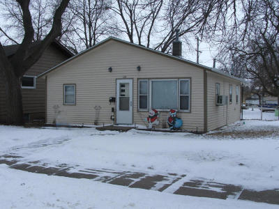 Mitchell SD Single Family Home For Sale: $64,000