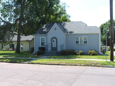 Mitchell Single Family Home For Sale: 601 E 5th Ave