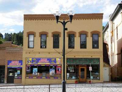Deadwood, Lead Commercial For Sale: 209-211 W Main Street
