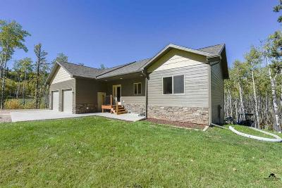 Sturgis Single Family Home For Sale: 11867 Elk View