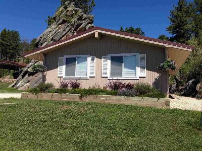 Custer SD Single Family Home Sold-Co-Op By Bor Member: $245,000