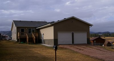 Custer SD Single Family Home Sold-Co-Op By Bor Member: $227,525
