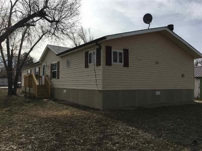 Newell SD Single Family Home For Sale: $90,000