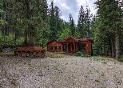 Deadwood, Lead Single Family Home For Sale: 10965 Us Hwy 14a