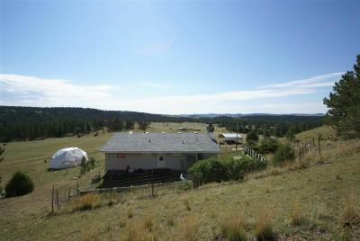 Hot Springs SD Single Family Home Sold-Co-Op By Bor Member: $399,000