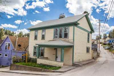 Single Family Home For Sale: 7 N Blue