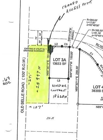 Spearfish Commercial For Sale: Lot 3c, Block 14