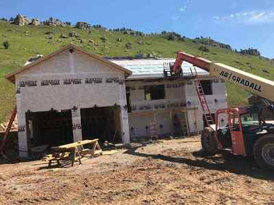Deadwood Single Family Home Uc-Contingency-Take Bkups: 772 Stage Run