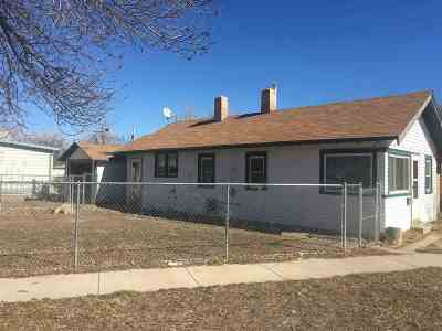 Belle Fourche SD Single Family Home For Sale: $60,000