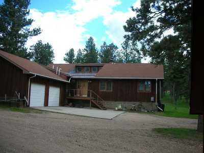 Spearfish Single Family Home For Sale: 183 Pine Cone Avenue