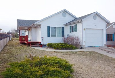 Spearfish SD Single Family Home Sold-Co-Op By Bor Member: $173,000