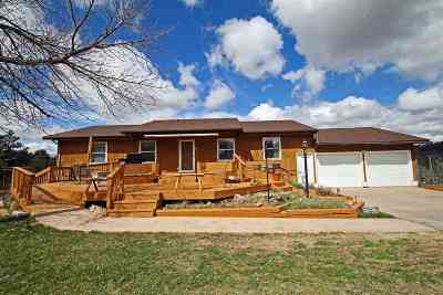 Spearfish Single Family Home For Sale: 113 Pine Cone