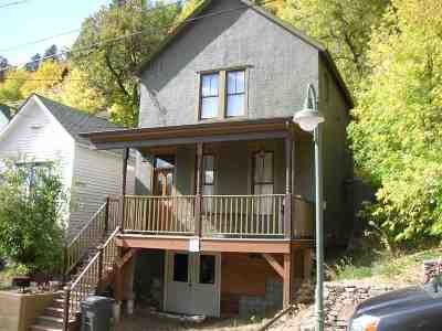 Deadwood Single Family Home For Sale: 316 Williams