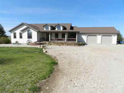 Sturgis Single Family Home For Sale: 13144 Sunrise