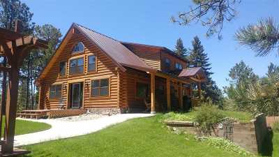 Deadwood Single Family Home For Sale: 21655 Gold Dust Trl.