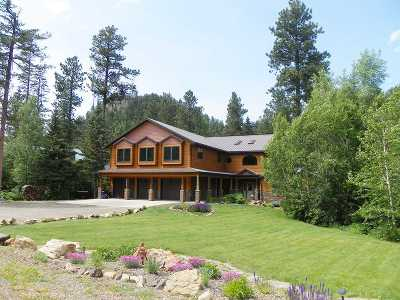 Deadwood, Lead Single Family Home For Sale: 11212 Spokane Road