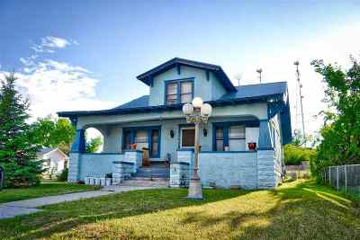 Belle Fourche SD Single Family Home For Sale: $64,900