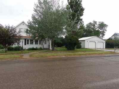 Reeder ND Single Family Home For Sale: $119,900