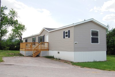 Spearfish SD Single Family Home Sold-Co-Op By Bor Member: $65,000