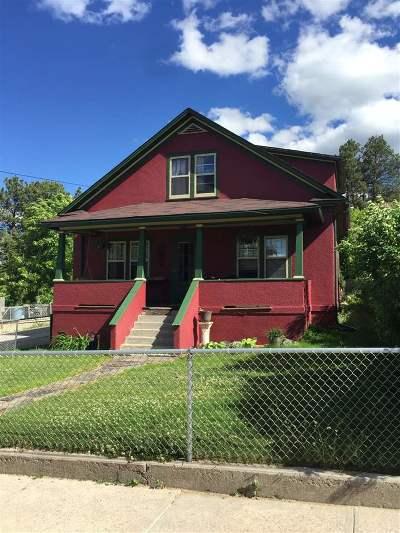 Single Family Home For Sale: 215 E Summit