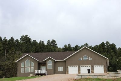 Belle Fourche, Spearfish Single Family Home For Sale: 3725 Hillsview
