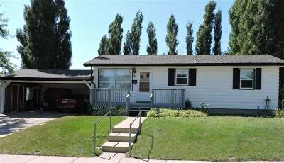 Belle Fourche SD Single Family Home For Sale: $132,000