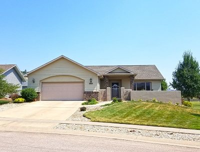 Spearfish SD Single Family Home Sold-Co-Op By Bor Member: $315,000