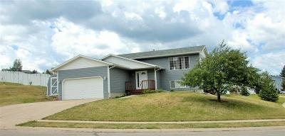 Spearfish Single Family Home Uc-Contingency-Take Bkups: 1011 S 35th