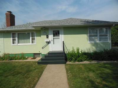 Spearfish Single Family Home Uc-Contingency-Take Bkups: 1235 N Canyon St
