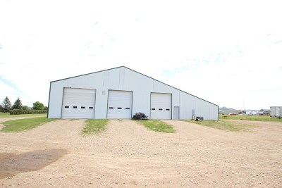 Spearfish Commercial For Sale: 4223 Old Belle Road