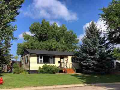 Sturgis Single Family Home For Sale: 1621 Cedar
