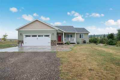 Spearfish Single Family Home Uc-Contingency-Take Bkups: 3621 Westview Drive