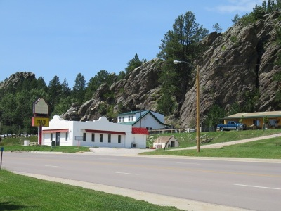 Custer Commercial For Sale: 631 W. Mt. Rushmore