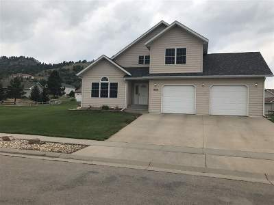 Spearfish Single Family Home Uc-Contingency-Take Bkups: 1820 Iron Horse