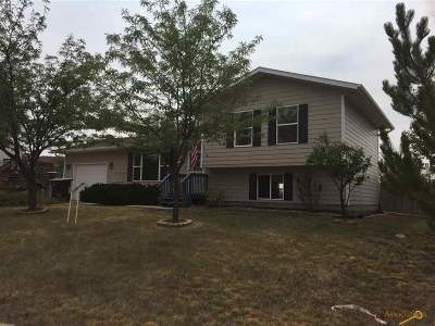 Belle Fourche Single Family Home Under Contract-Dont Show: 302 Ziebach