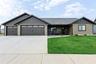 Spearfish Single Family Home Uc-Contingency-Take Bkups: 3801 Ward