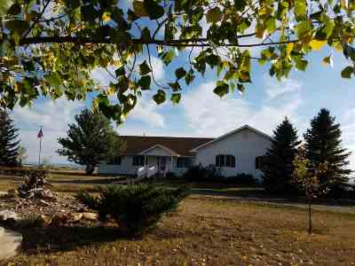 Belle Fourche Single Family Home For Sale: 11139 Stafford