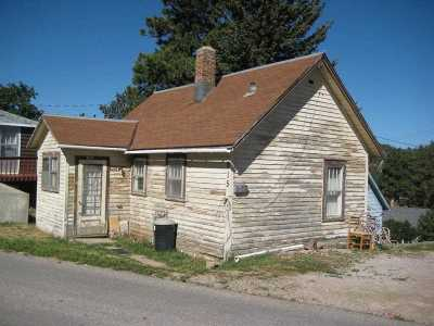 Deadwood, Deadwood/central City, Lead Single Family Home Uc-Contingency-Take Bkups: 815 Walsh