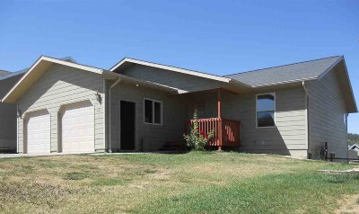 Whitewood SD Single Family Home Uc-Contingency-Take Bkups: $220,000