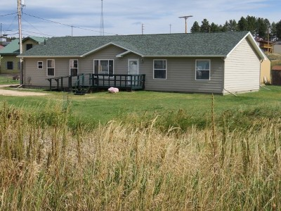 Custer Single Family Home For Sale: 1022 Mt. Rushmore Road