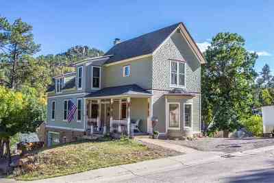 Deadwood Single Family Home For Sale: 3 Pearl