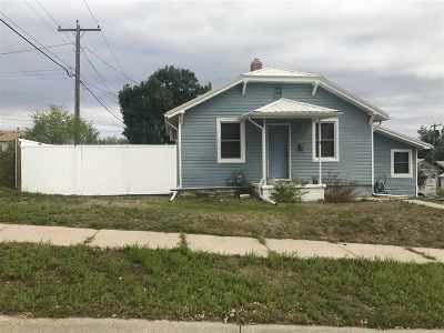 Belle Fourche SD Single Family Home For Sale: $115,000
