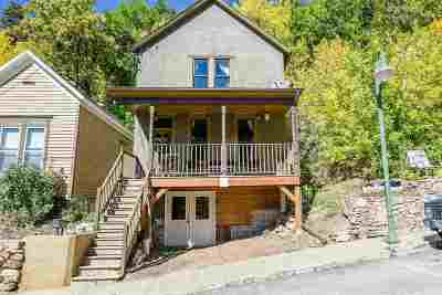 Deadwood, Lead Single Family Home For Sale: 316 Williams St.