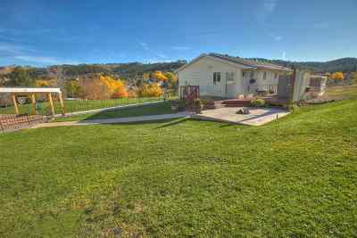 Pennington County Single Family Home For Sale: 2817 Mountain Meadow Rd