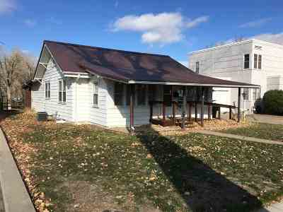 Belle Fourche SD Single Family Home Uc-Contingency-Take Bkups: $110,000