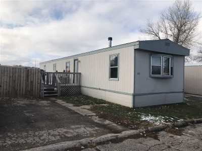 Spearfish Single Family Home Uc-Contingency-Take Bkups: 147 Valley