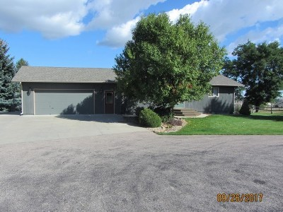 Spearfish SD Single Family Home Uc-Contingency-Take Bkups: $249,500